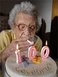 If I'm being completely candid, 100-year-old me wouldn't give a furk. Smoke 'em if ya got 'em!